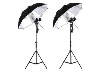 Standard Double Lamp Umbrella Photography Light * A Professional  Studio  Kit Photographic Equipment Accessories