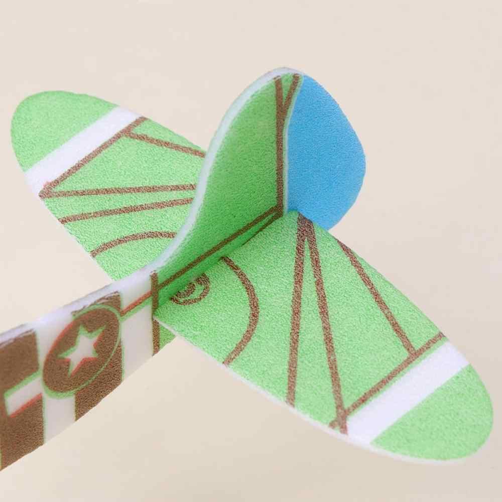 Piana papierowy samolot ręczny rzucanie szybownictwo model samolotu DIY zabawki dla dzieci na prezent B36E