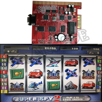 Casino Multi Game Board Red PCB Motherboard 6X 6 in 1 60-95% Juego Slot Poker Multigames super spy2