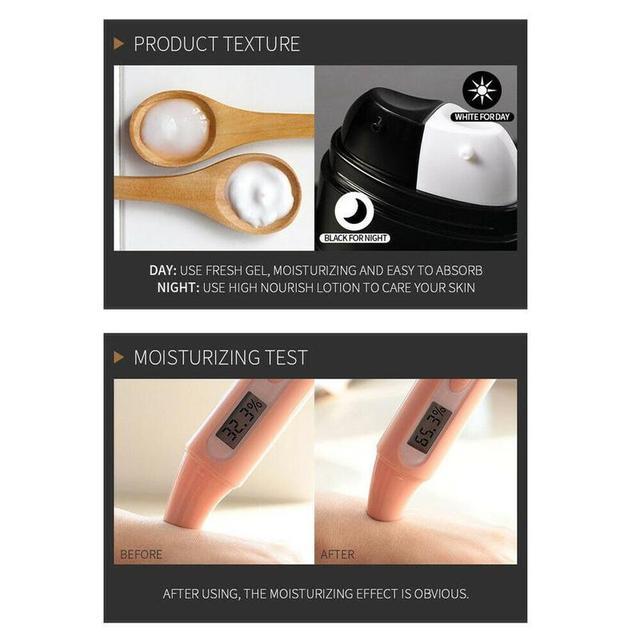 1PC Men Moisturizing Firming Anti Wrinkle Eye Cream Bags Serum Dark Circles Remover Fine Line Eye Cream 2