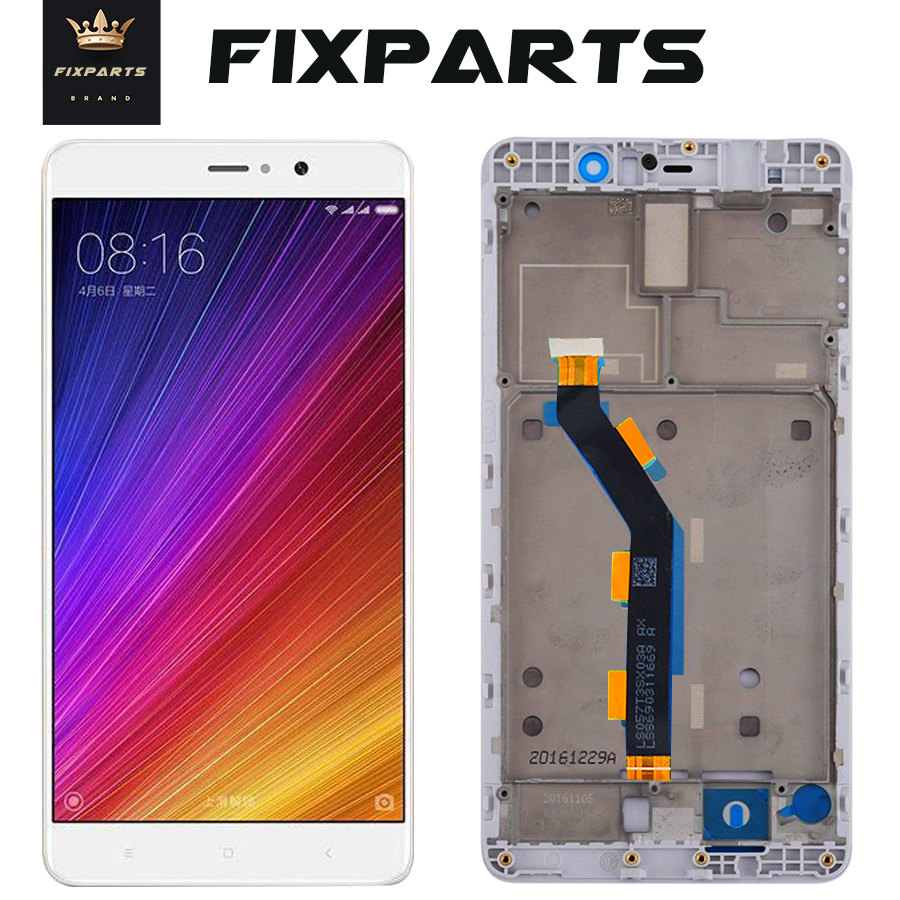 New Screen for Mi 5s Plus LCD screen <font><b>display</b></font> Touch panel digitizer For 5.7 <font><b>Xiaomi</b></font> Mi 5S Plus M5S plus <font><b>Mi5S</b></font> plus Mi 5S Plus Black image