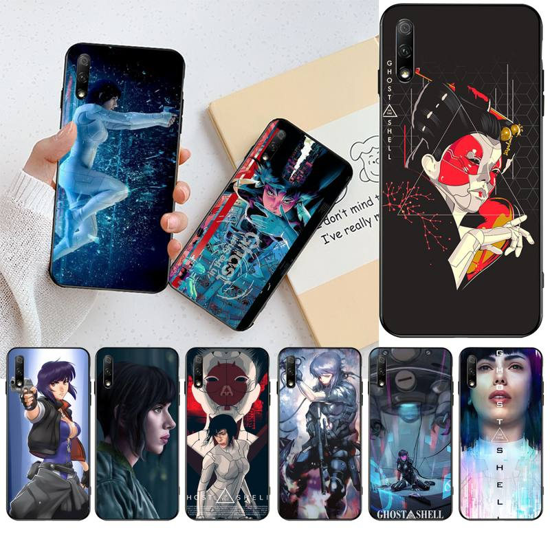 <font><b>Ghost</b></font> <font><b>in</b></font> <font><b>the</b></font> <font><b>Shell</b></font> Phone <font><b>Case</b></font> Cover for Huawei Honor 30 20 10 9 8 8x 8c v30 Lite view pro image
