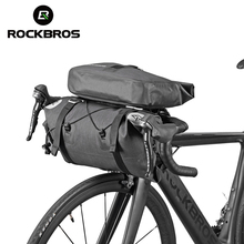 ROCKBROS Waterproof Bicycle Front Big Capacity Tube Bags  MTB Cycling Handlebar Frame Trunk Pannier Bike Accessories