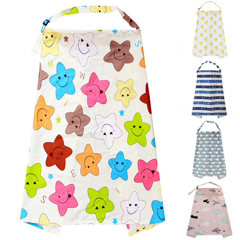 2019 New Breastfeeding Cover Feeding Baby Nursing Apron Women Mum Shawl Clothes Cotton Blanket Cloth Fashion Mommy Apron