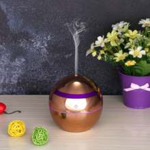 OTOKU 130ml USB Mini Air Cool Mist Humidifier Ultrasonic Aromatherapy Essential Oil Diffuser Plating for Home
