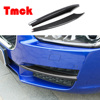 2PCS For Jaguar XE X760 2017 2018 ABS Car Exterior Front Fog Lamp Foglight Frame Trim Strips Covers Stickers Auto Accessories 1