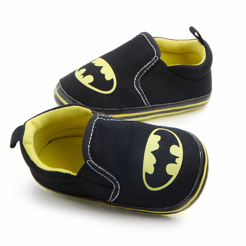 Hot Sale Cartoon Character Style Toddlers Baby Canvas Shoes Baby Moccasins Soft Bottom First Walkers Bebe Anti-slip Baby Shoes