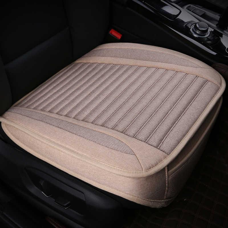 Cakupan Penuh Flax Kursi Mobil Auto Kursi Covers untuk Toyota Exsior FJ Cruiser FT86 Hardbody Hiace Highlandere Innova MR