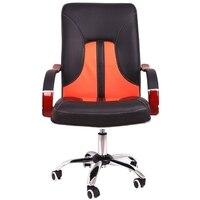 Silla de ordenador Simple para el hogar, levantada, rotada, silla de oficina, silla giratoria multifunción, taburete de estudio de reposabrazos de madera fijo
