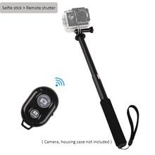 Buy Go pro 12 inch Aluminum Monopod Selfie Stick + Remote Shutter for Gopro7 6 5 Yi 4K Sj4000 Sj8 pro Sj9 H9R DJI OSMO Action Camera directly from merchant!