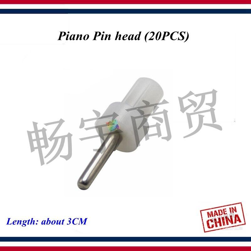 Piano Tuning  Tools Accessories   Piano Pin Head  20PCS    Piano Repair Parts
