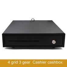 4  grid  3 gear  Cash register Supermarket cash register box Commercial cash register