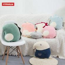45CM Height Cute Plush Unicorn Elephant Pillow Rabbit Soft Toy PP Cotton Forest Animals Kawaii Girls Toys
