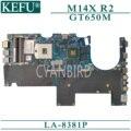 KEFU LA-8381P placa madre original para Dell Alienware M14X R2 con placa base para ordenador portátil GT650M