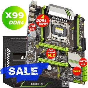 Image 1 - Atermiter X99 LGA2011 V3 מקצועי 4 ערוץ DDR4 מחשב שולחני האם מודול LGA2011 3