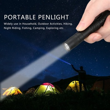 LED Flashlight Torch Portable Mini Pocket Penlight Waterproof Q5 2000LM Aluminum Alloy 1 Switch Mode Light for Hunting Camping super bright pen light mini portable led flashlight 1switch mode mini led flashlight for the dentist and for camping hiking out