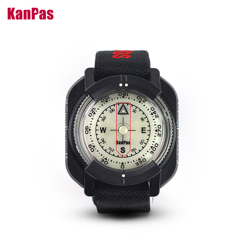 Wrist Compass For Diving And Outdoors/with Extra Powerful Luminous