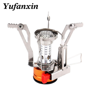 Mini Camping Stoves Folding Outdoor Gas Stove Portable Furnace Cooking Picnic Split Stoves Cooker