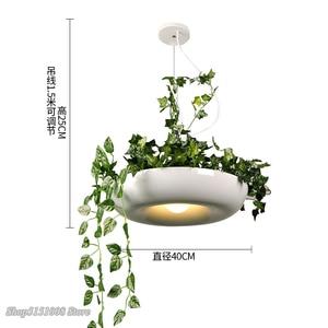 Image 5 - Nordic Plant Hanglampen Diy Sky Tuin Led Lamp Bloempot Opknoping Lamp Eetkamer Restaurant Verlichtingsarmaturen Thuis Decor