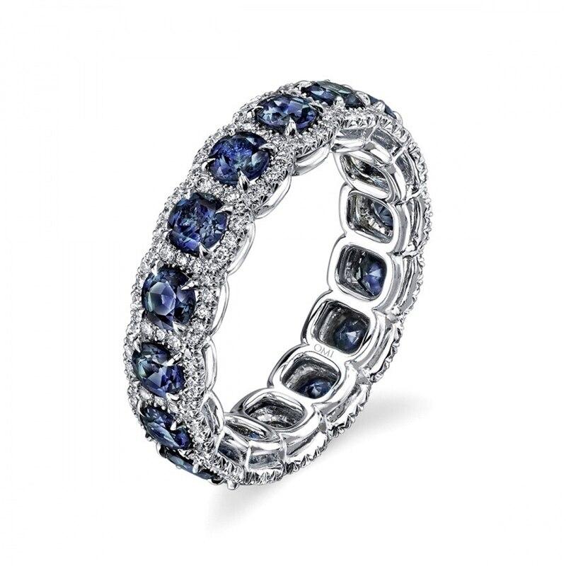 Carofeez Vintage Women Rings Luxury Rhinestones Zircon Wedding Band For Women Accessories Fashion Jewlery Anniversary Gift