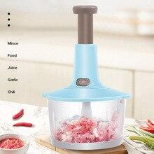 Vegetable Grinder Food-Processor Meat-Cutter Manual Kitchen Stirrer Egg-Whisk Press-Type