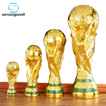 Trophy Sculpture Football Home-Decoration-Accessories World-Hercules-Cup Resin Crafts