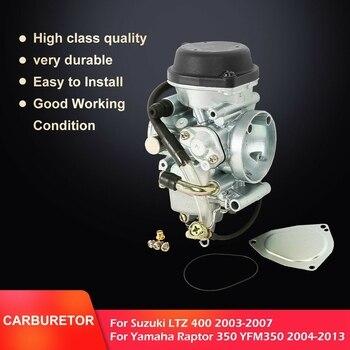 Motorcycle Carburetor Carb For SUZUKI Quadsport Z400 Z 400 LTZ400 LTZ 400 QUAD ATV 2003-2007 YAMAHA RAPTOR YFM 350 YFM350 04-13