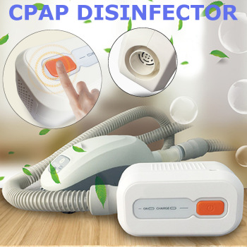Rechargeable Battery CPAP Cleaner Ventilator Sanitizer 2000mAh CPAP Auto CPAP Disinfector Sleep Apnea OSAHS OSAS Anti Snoring