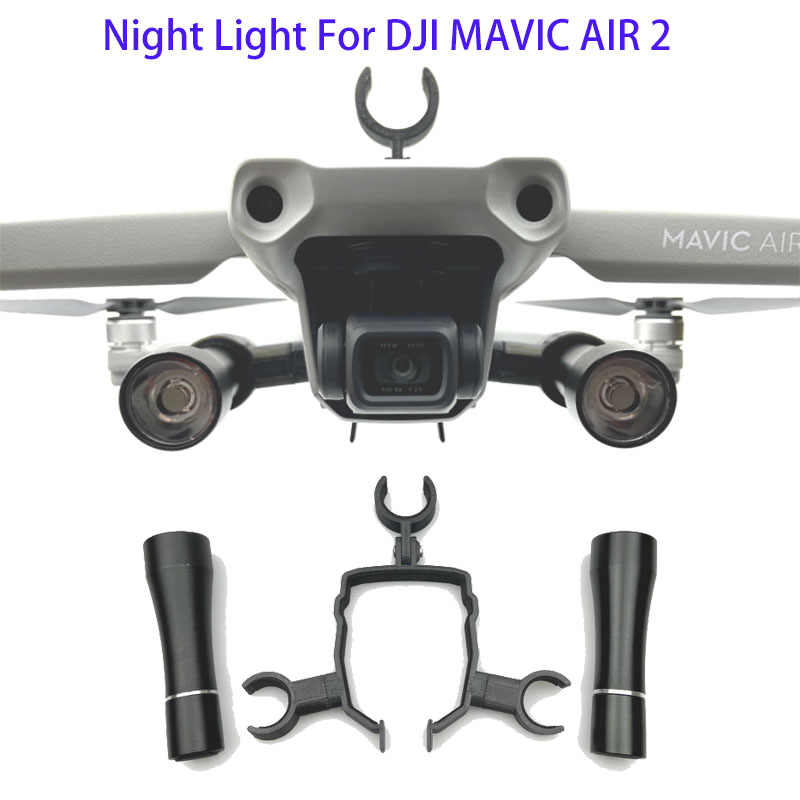MAVIC Air 2 LED Malam Lampu Navigasi Bracket Penerbangan Sorot Senter Kit untuk DJI MAVIC Air 2 Drone Aksesoris