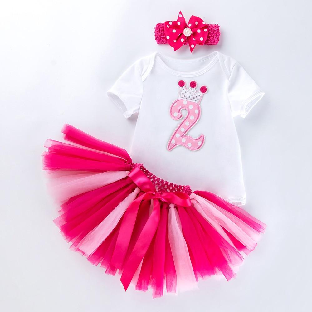 Infant Newborn Baby Girl Mothers Day Outfit Short Sleeve Romper Bodysuit+Mesh Tutu Skirt+Headband 0-12M
