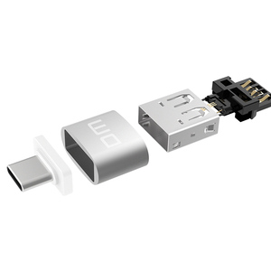 Image 2 - DM USB C محول نوع C إلى USB 2.0 محول Thunderbolt 3 نوع C محول OTG كابل لماك بوك برو الهواء سامسونج S10 S9 USB OTG