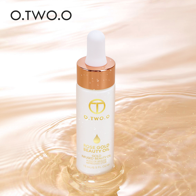 O.TWO.O Face Primer Makeup Base Beauty Oil Makeup Essential Oil Before Foundation Winter Moisturizing Smooth Foundation Base 2