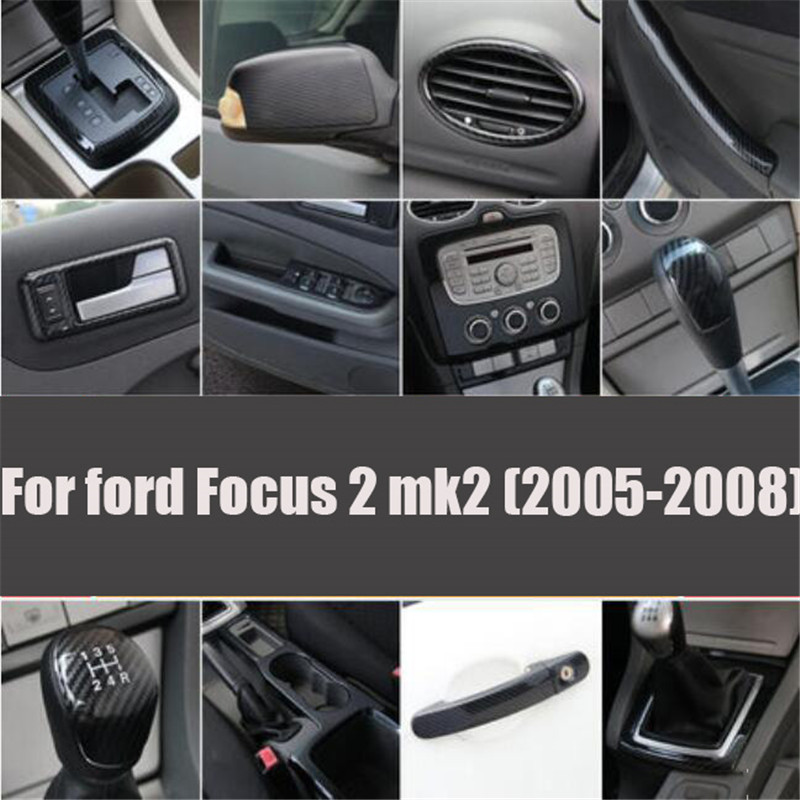 Car Styling Accessories Special Modified Interior Decorative Sticker Trim Case For Ford Focus 2 Mk2 2005-2008