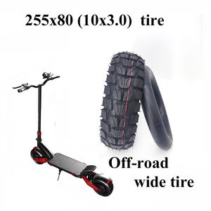 Высококачественные шины 10 дюймов 255x80, внутренняя внешняя шина 10x3,0 для электрических скутеров Speedual Zero 10X Kugoo M4