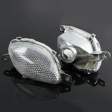 Motorcycle Front Turn Signal Indicatior Lens For Suzuki Hayabusa GSX1300R 1999-2007 front turn signal light lens for suzuki hayabusa gsx1300r gsxr1300 2008 2012