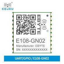 E108-GN02 NMEA0183V4.1 10Khz actualiza de alcance mundial 2,8 V TTL BDS/GPS/GLONASS/GALILEO/El QZSS/SBAS SMD de posicionamiento por satélite para