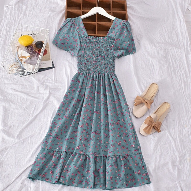 Casual Summer Dress Bohemian Elegnant and Long 4