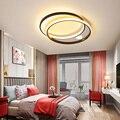 Современный светодиодный потолочный светильник для гостиной  для спальни  ресторана  кухни  Золотой/черный/белый Потолочный светильник  до...