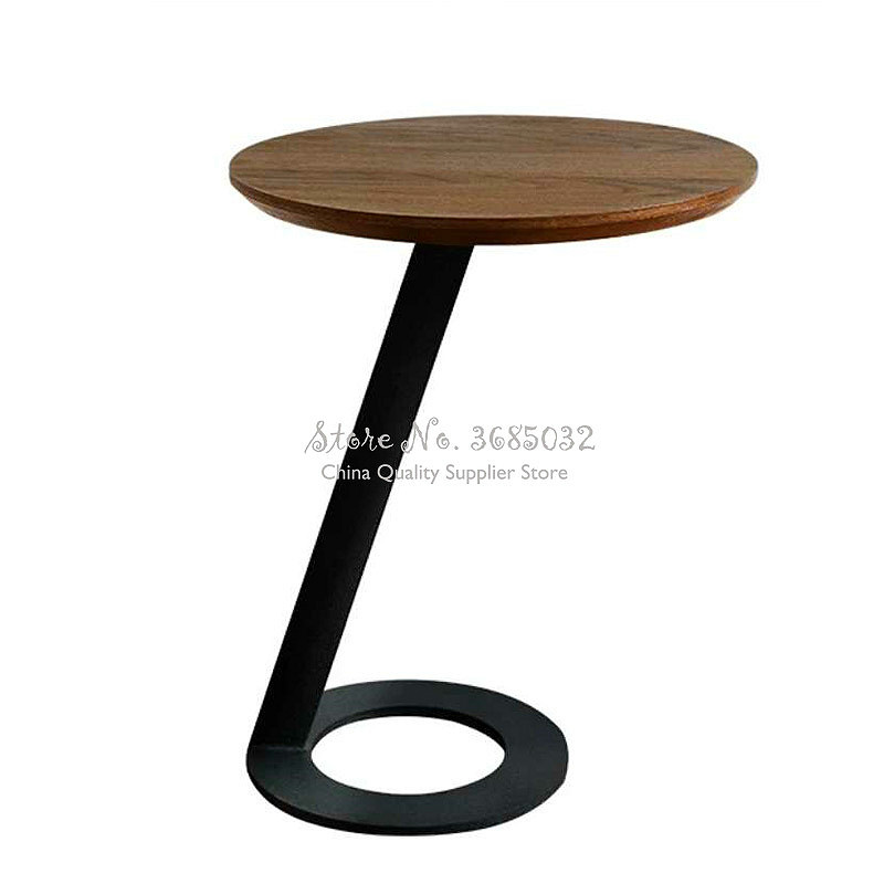 Nordic Simple Small Apartment Living Room Multi-function Creative Mini Round Table Sofa Side Cabinet Corner Small Coffee Table