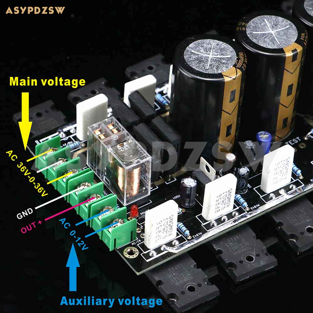 2.0 Channel Audio Power Amplifier Assembled Board Accuphase A60 Circuit Feedback