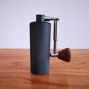 Image 3 - TIMEMORE 나노 플러스 수동 커피 그라인더 휴대용 조정 가능한 설정 원추형 버 작은 손 크랭크 밀 에스프레소 스케일 위에 부어