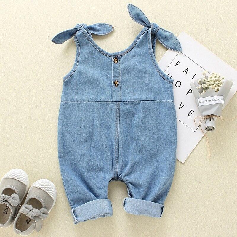 Летняя одежда для маленьких девочек комбинезон для мальчиков 2019 модные с ремешком для детей комбинезон симпатичный комплект для новорожде...