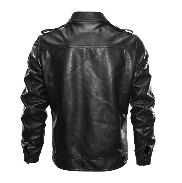 Leather Biker Jacket 3