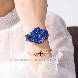 Image 3 - 100 adet/grup 103020 sıcak satış hiçbir Logo manyetik izle toptan kadınlar kız Lady saat kadınlar için moda bayan izle