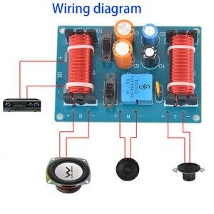 Image 3 - Tenghong 2 Pcs 150W 3 Way Audio Luidspreker Crossover Treble Midrange Bass Boekenplank Auto Luidsprekers Filter Frequentie Divider Crossover