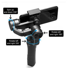 3 Axis Anti-Shake Selfie Stick Handheld Gimbal for Smartphone Camera Stabilizer iOS iPhone& Android APP Controls Phone