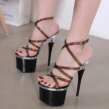 Fairy Women Sandals Shoes Steel Tube Dancing Striptease Fema