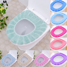 Warm Thick O-shaped Universal 30CM Toilet Cushion Padded Seat Autumn Winter WC Cover Mat