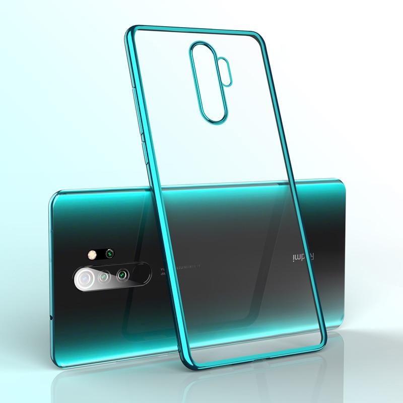 For Xiaomi RedMi Note 8 Note 7 Pro XiaoMi 9 CC9 Case,Ultra Slim Thin Clear Soft Premium Bumper Transparent TPU Back Plate Cover
