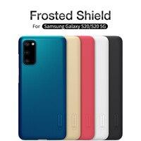 Para Samsung Galaxy S10 S20/S10 + S20 + Plus carcasa NILLKIN Super Frosted Shield funda trasera dura para Samsung S10e S20 Ultra 5G funda